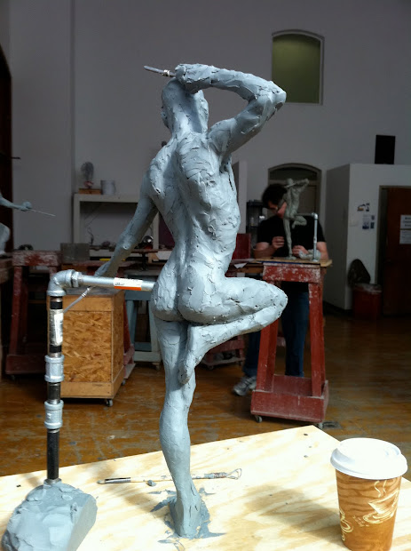 Angela Cunningham Fine Art Sculpture Sketches