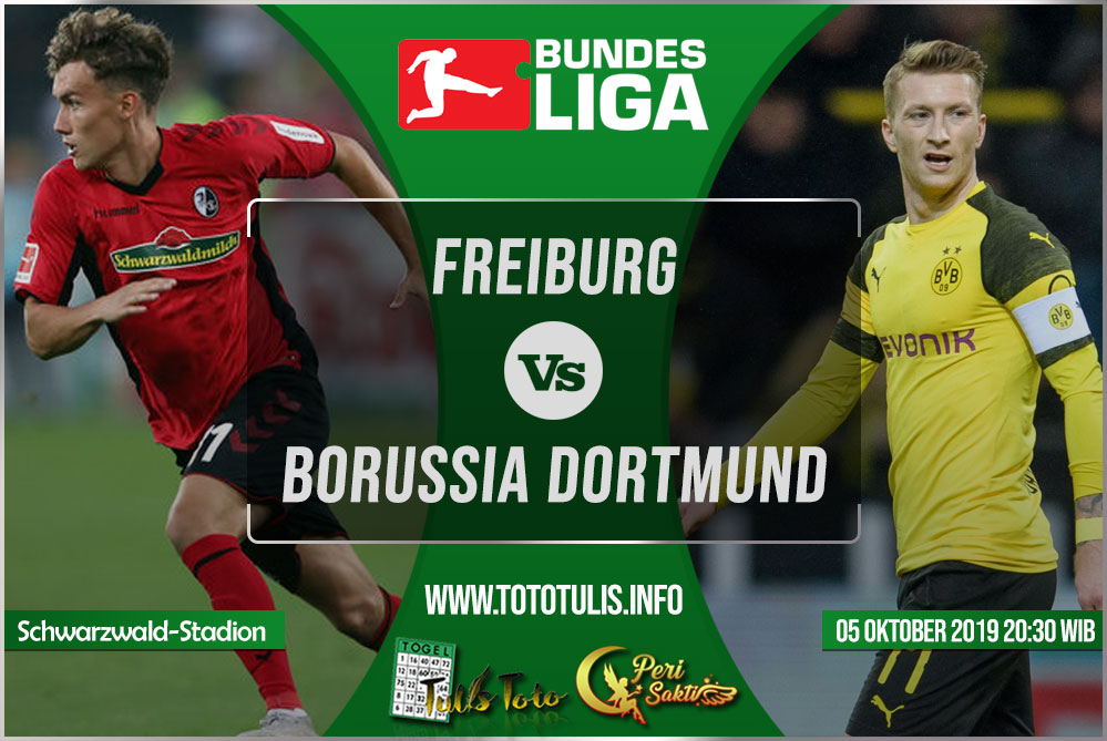 Prediksi Freiburg vs Borussia Dortmund 05 Oktober 2019