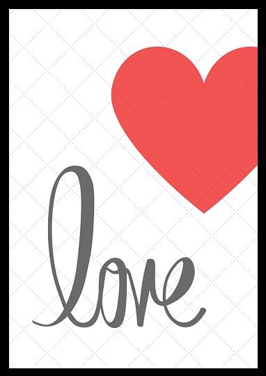 Walentynkowe Plakaty Do Druku Moje Idealia Blog Lifestylowy Diy