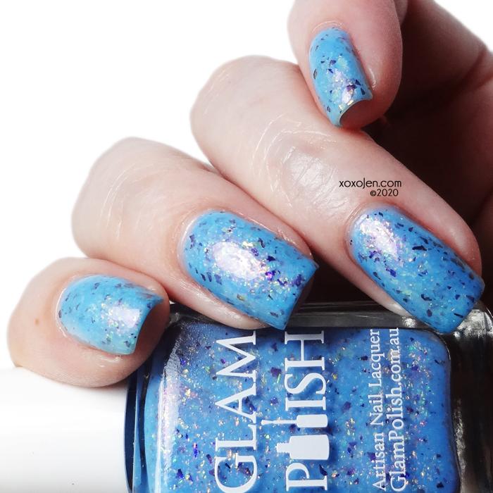 xoxoJen's swatch of Glam Polish Catch a Wave