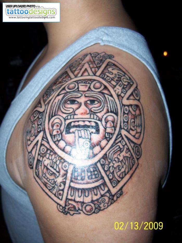 bd820d5a4 My Tattoo Designs: Aztec Tattoos - aztec tattoos