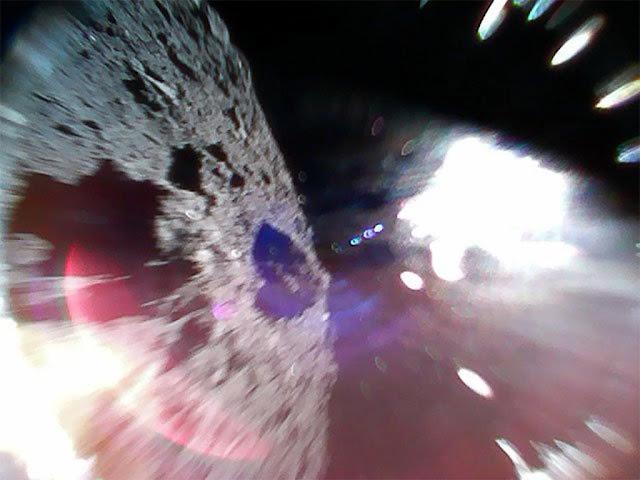 primeira imagem asteroide Ryugu