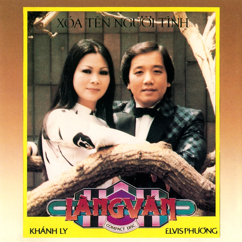 Làng Văn CD030 - Khánh Ly, Elvis Phương - Xóa Tên Người Tình (NRG) + bìa scan mới