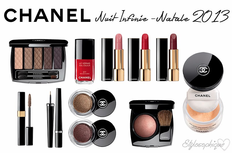 Chanel, Nuit Infinie, Natale, Natale 2013, Make up Collection