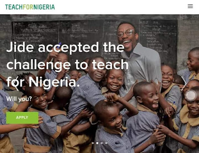 Teach for Nigeria opens application for its 2019 Teachers Recruitment for young Nigerian Graduates