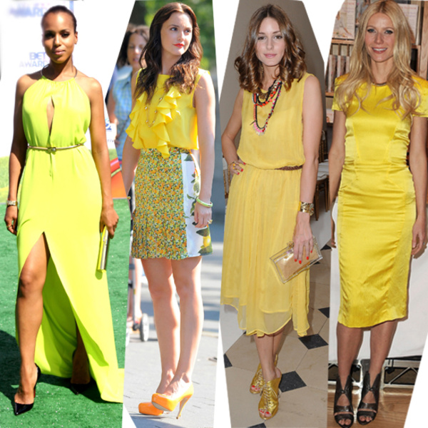 Do You Always Feel That Your Summer Wardrobe Is A Little Dull And Not Enough Eye Catching Then Add Some Lemon Yellow Fluorescent Color Has Topped The