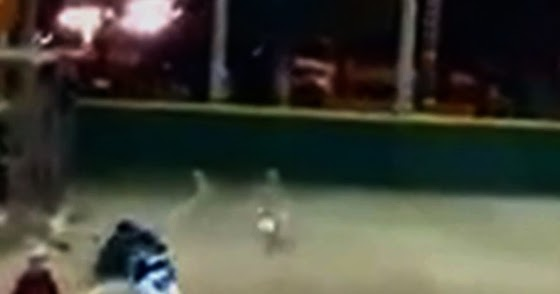 Invisible Cloaking Entity in Juarez, Mexico Park (Video / Photo Captures)