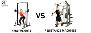 Free weights Vs Resistance Machines; which is better and what is the difference anyway?