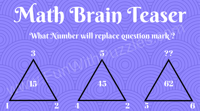 Triangles Math Brain Teaser
