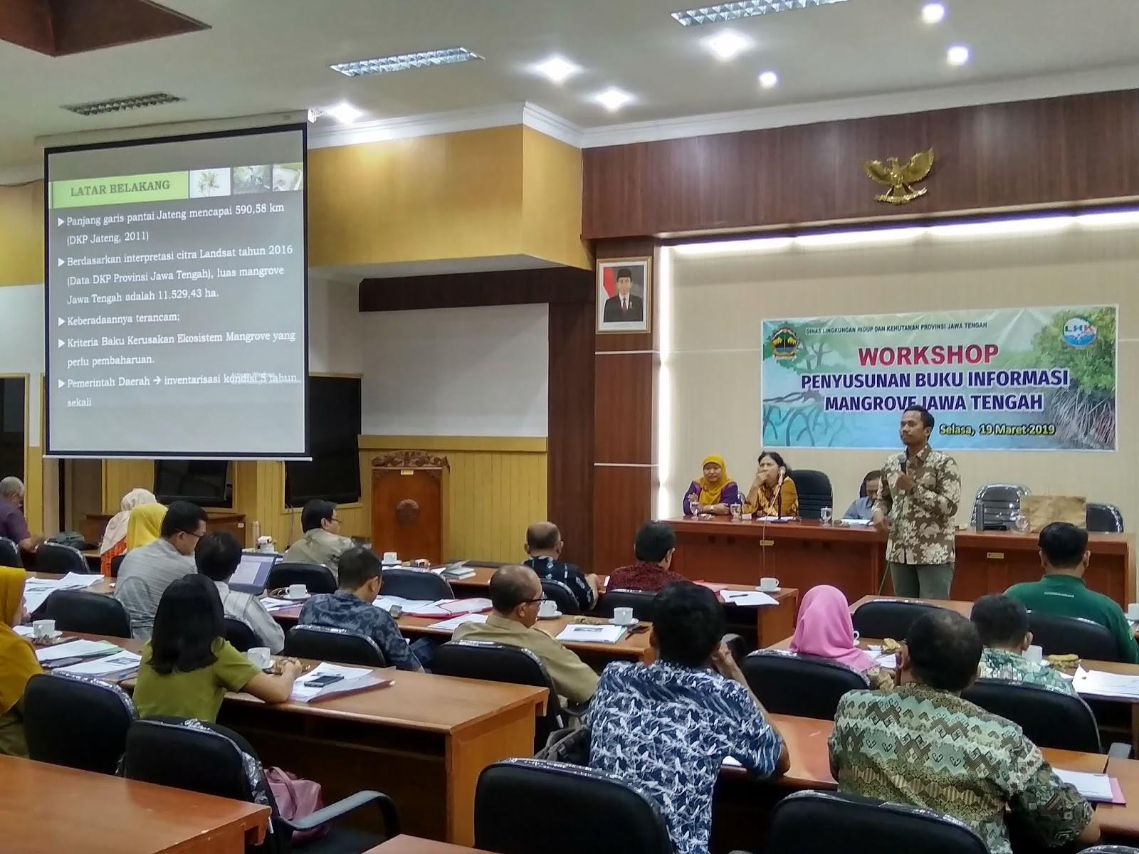 IKAMaT Narasumber Workshop Penyusunan Buku Mangrove DLHK Provinsi Jawa Tengah
