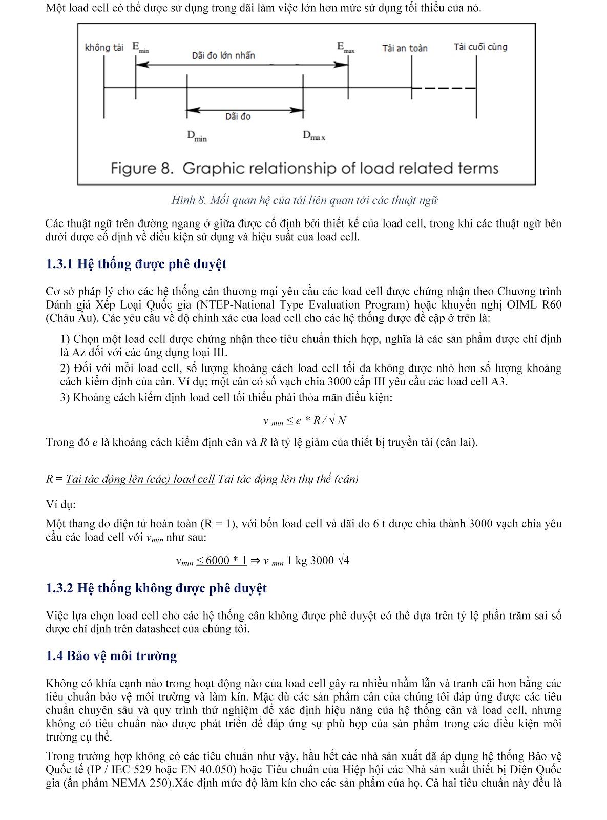 Lưu ý kỹ thuật về Load cell và module cân điện tử (tt) 7