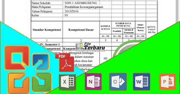 Aplikasi Kkm Sd Ktsp Kelas 1 2 3 4 5 6 Format Excel File