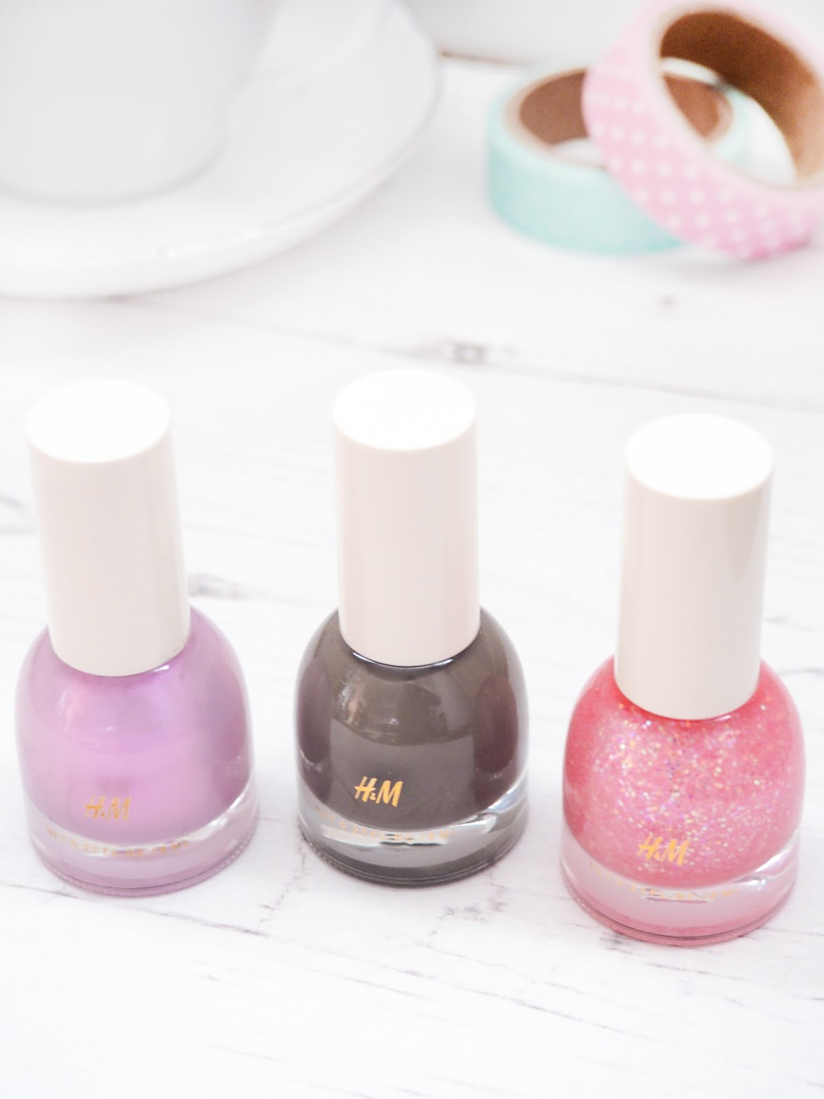 H&M Beauty Nail Polishes