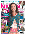 I've been featured in Simply Knitting