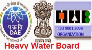 Heavy Water Board Recruitment 2017, http://www.hwb.gov.in