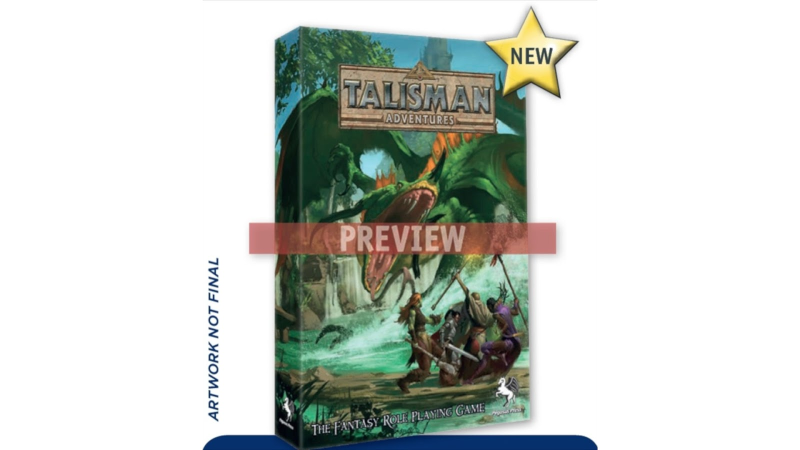 Talisman Adventure Game Fantasy Role Play Game RPFG Board Game News