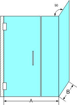 Corner Shower Enclosure 2