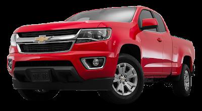 Chevrolet Colorado front look