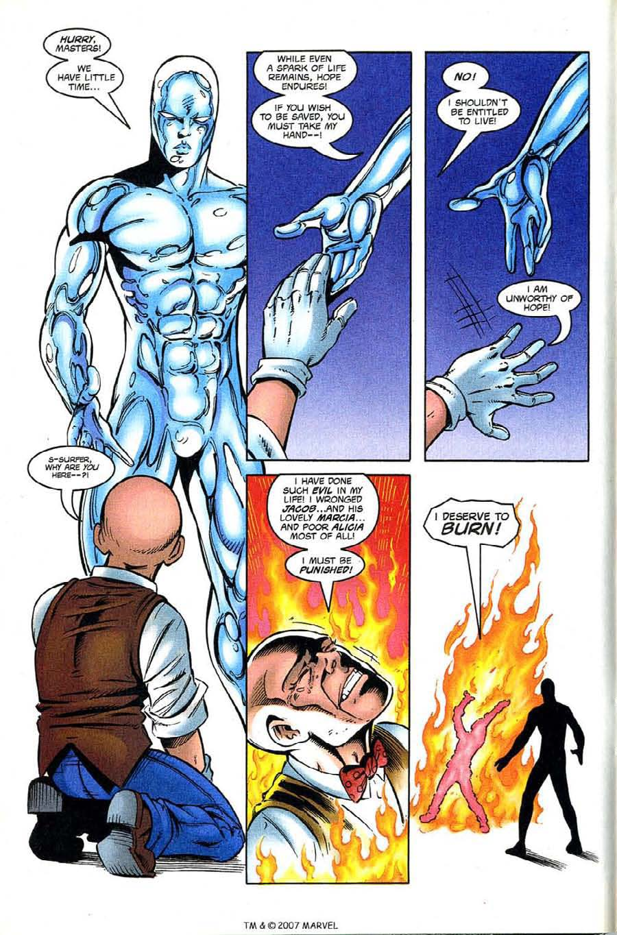 Read online Silver Surfer (1987) comic -  Issue #133 - 12