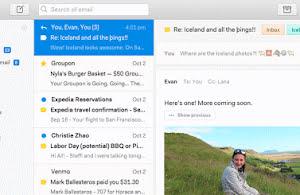 Nylas N1 email desktop client