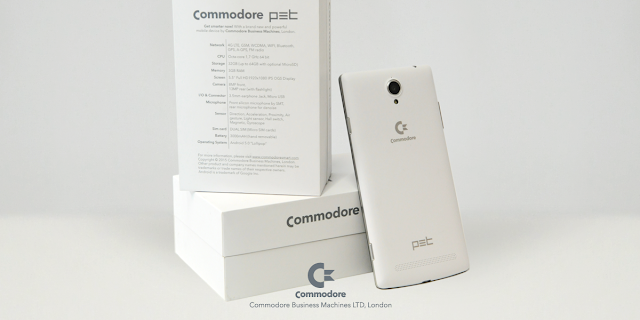 Das Commodore PET Android Smartphone | Commodore is back