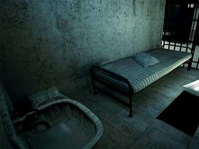 Abandoned Locked Prison Escape Solucion