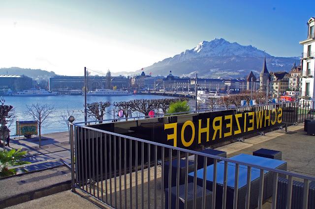Hotel Schweizerhof Luzern View