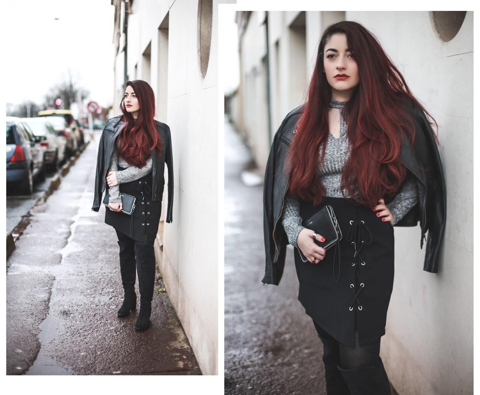 jupe à lacets blog mode venus is naive