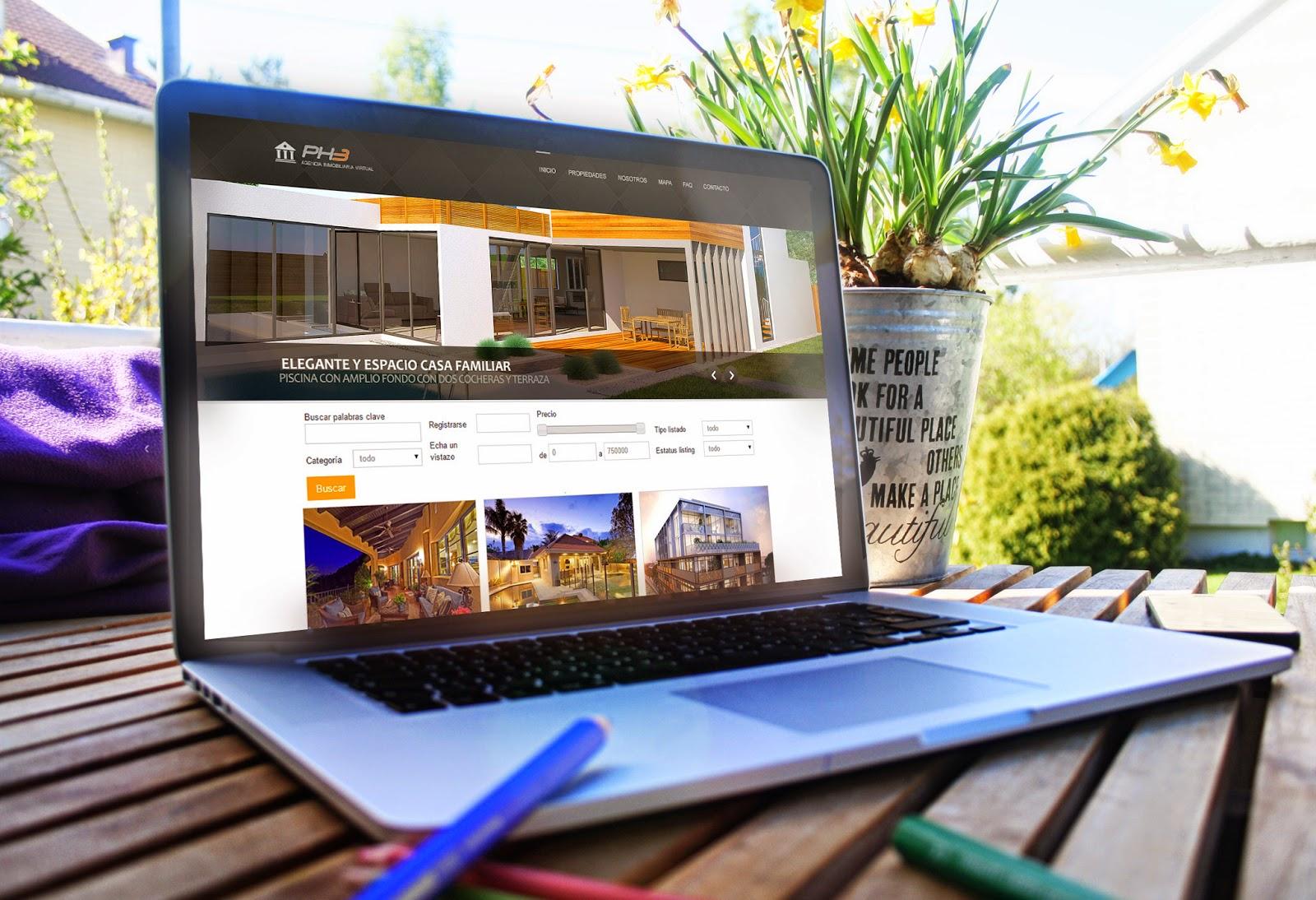 Desarrollo Web Inmobiliarias Parana
