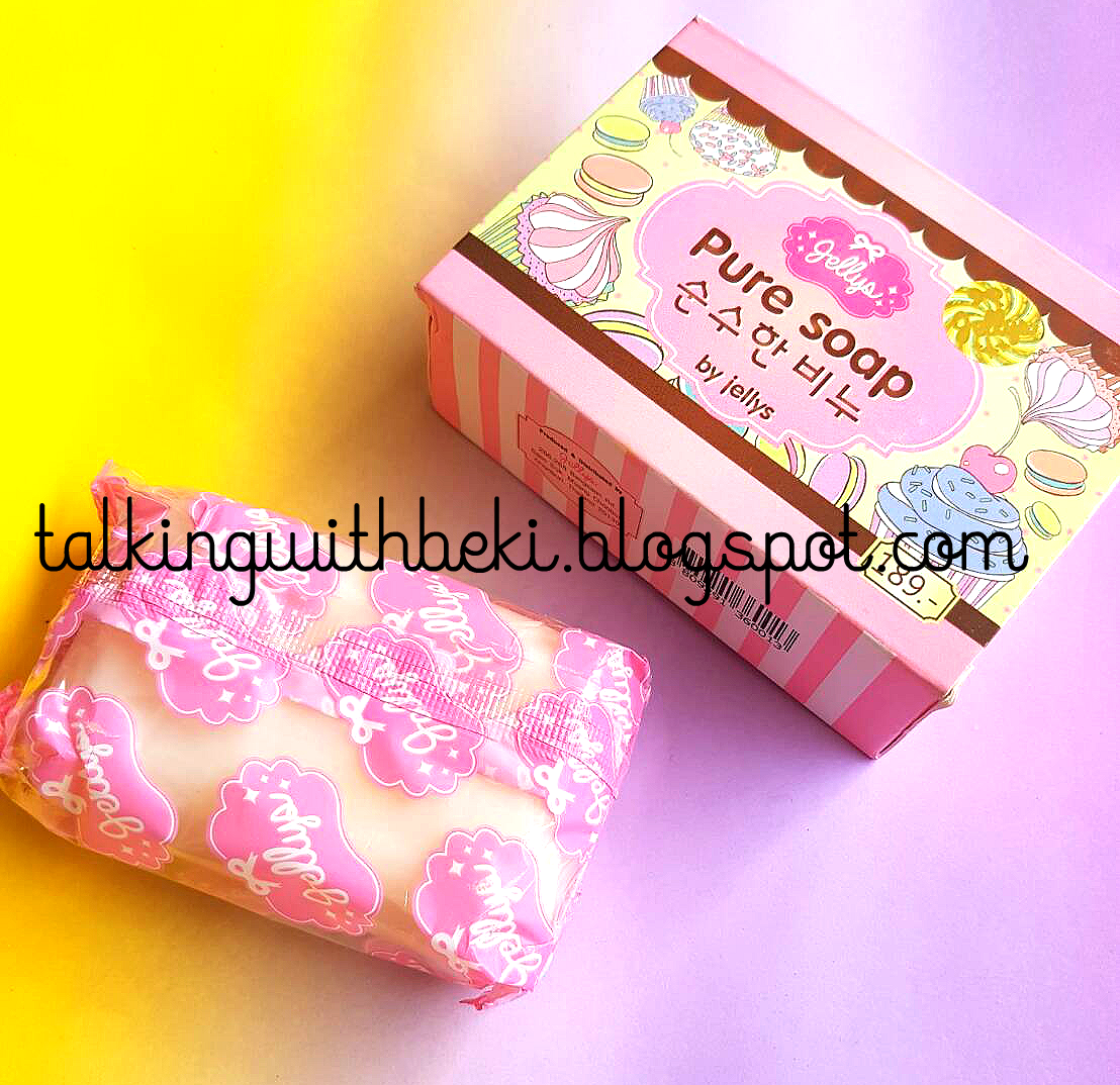 Review Pure Soap By Jellys Talking With Beki Bpom Body Original Sabun