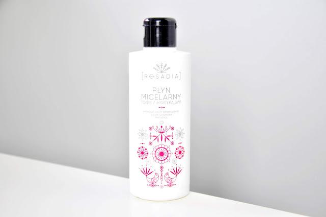 rosadia płyn micelarny/tonik/mgiełka 3w1