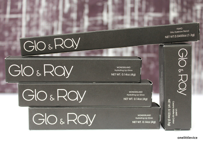 One Little Vice Beauty Blog: Glo and Ray Makeup Reviews