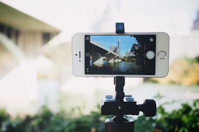 handheld untuk hasil video maksimal