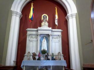 Nuestra Señora de Coromo y las legiones de angeles
