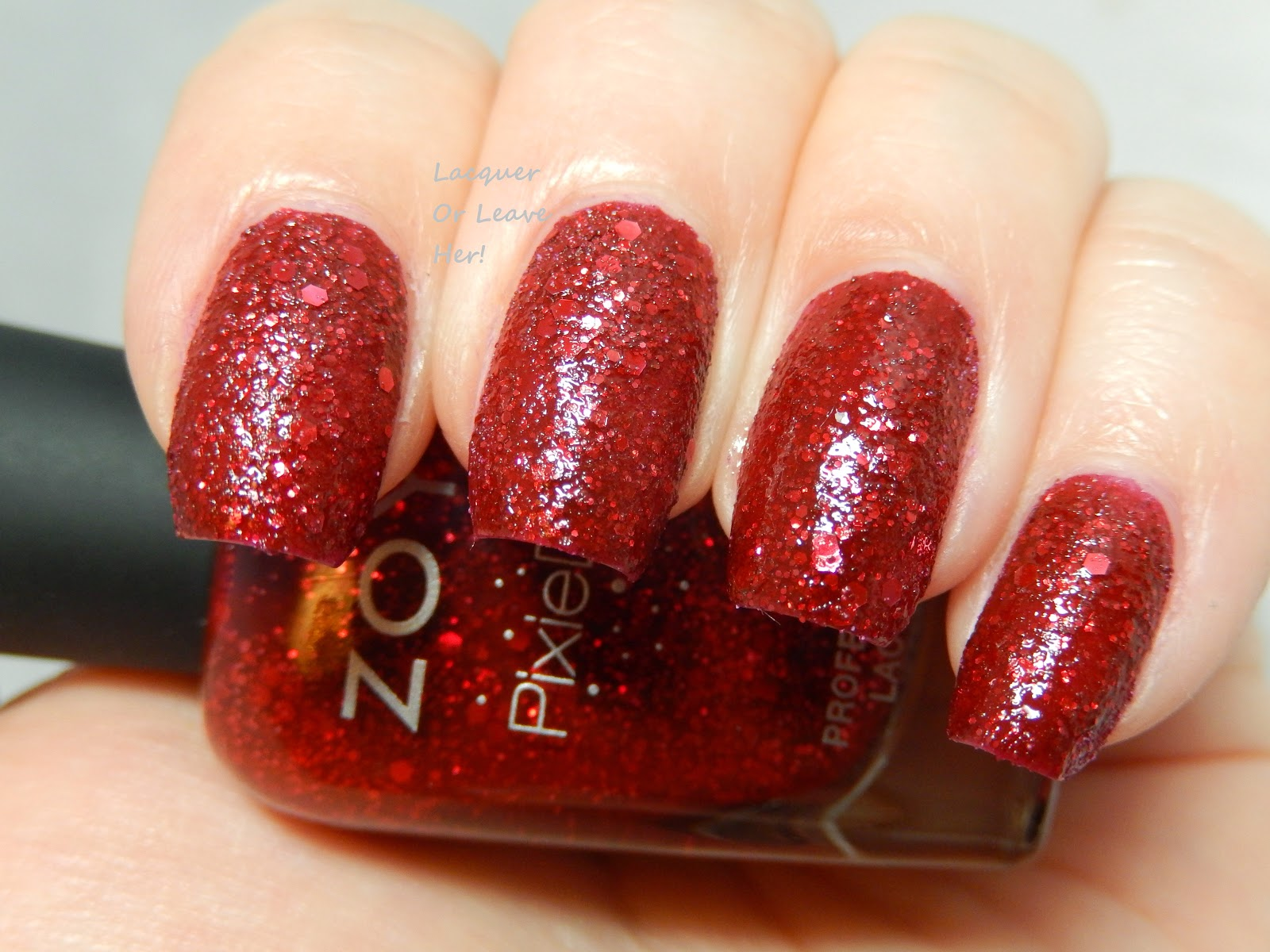 Zoya Oswin with topcoat