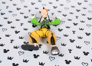 "S.H.Figuarts Goofy de ""Kingdom Hearts II"" - Tamashii Nations"