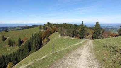 Blick zum Jura und ins Luzerner Hinterland