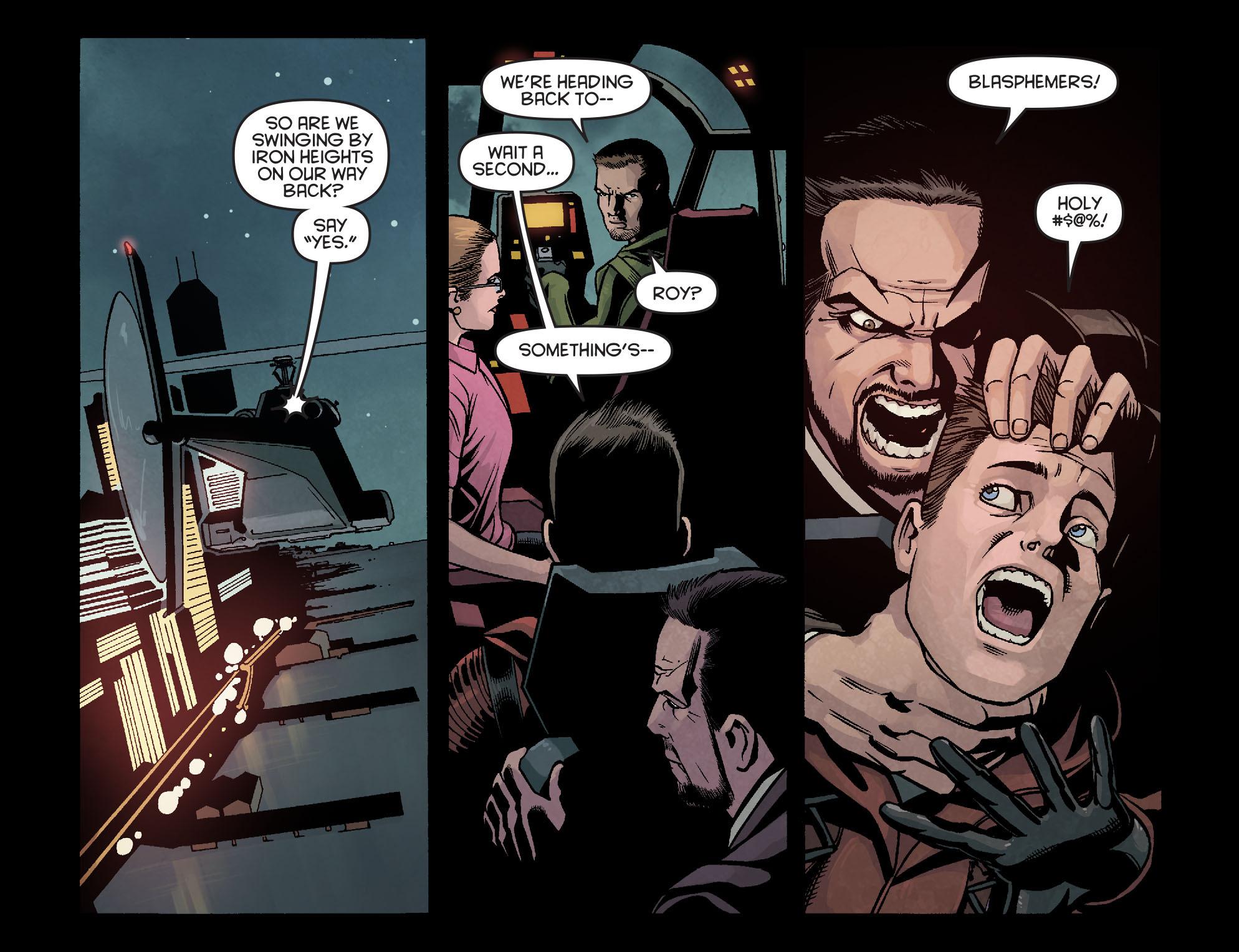 Read online Arrow: Season 2.5 [I] comic -  Issue #16 - 10