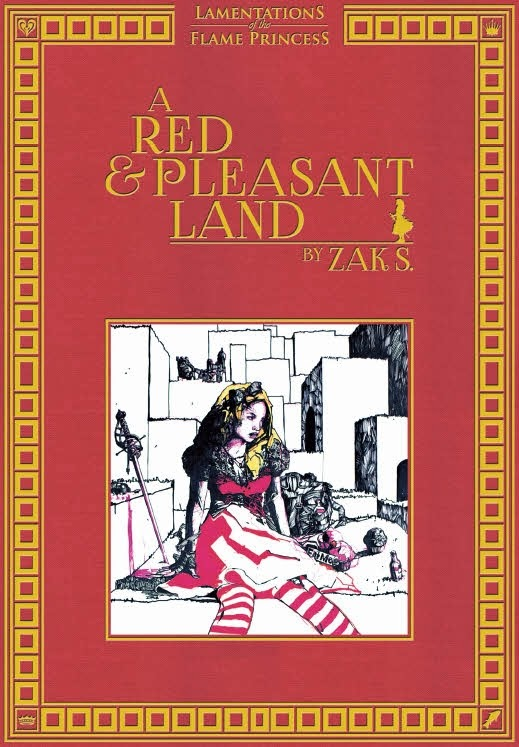 The Other Side blog: Review: A Red & Pleasant Land