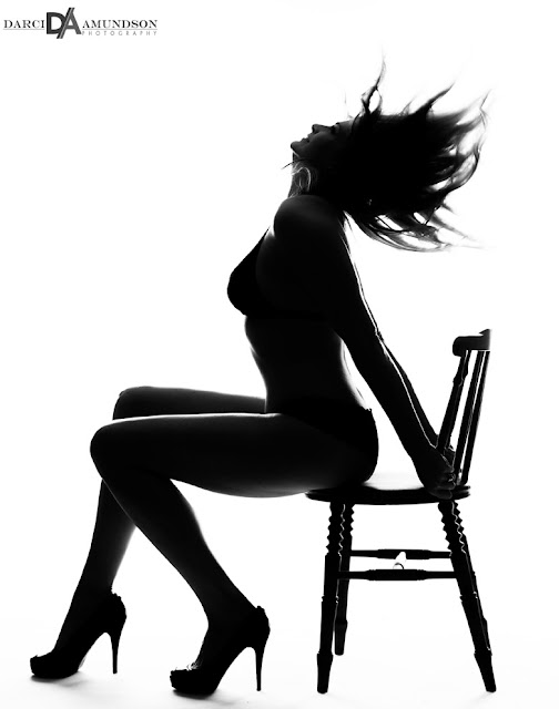 silhouette photo denver boudoir studio