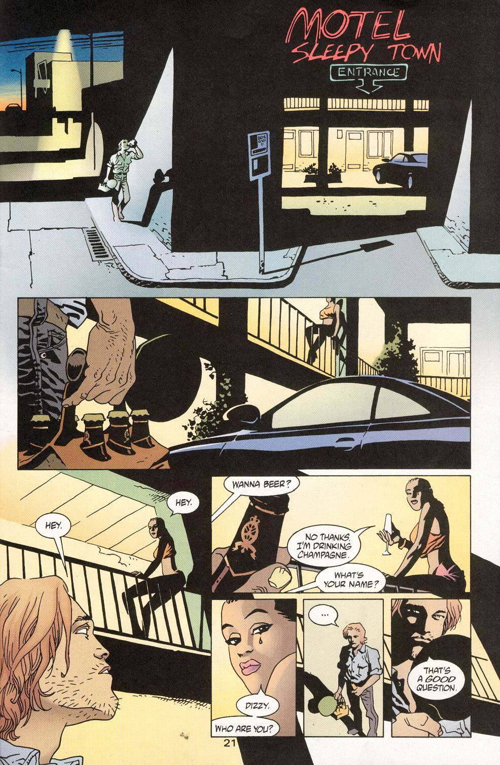 Read online 100 Bullets comic -  Issue #28 - 23