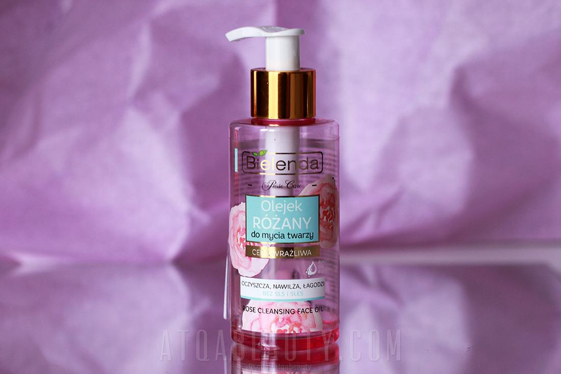 Bielenda, Rose Care, Olejek różany do mycia twarzy