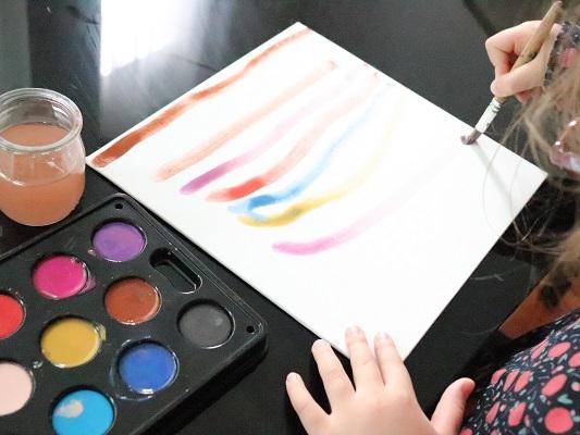 peinture enfant ikea