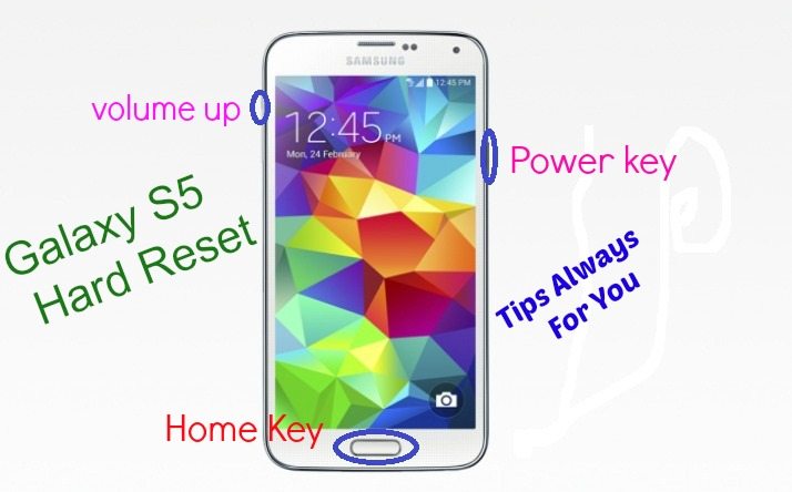 Tips Always For You: How To Hard Reset Samsung Galaxy S5