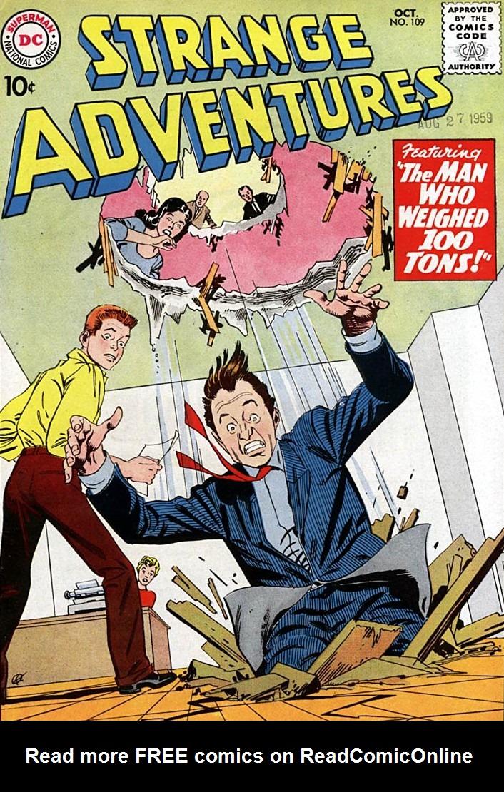 Strange Adventures (1950) 109 Page 1