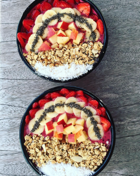 Bali bowl aux fruits rouges