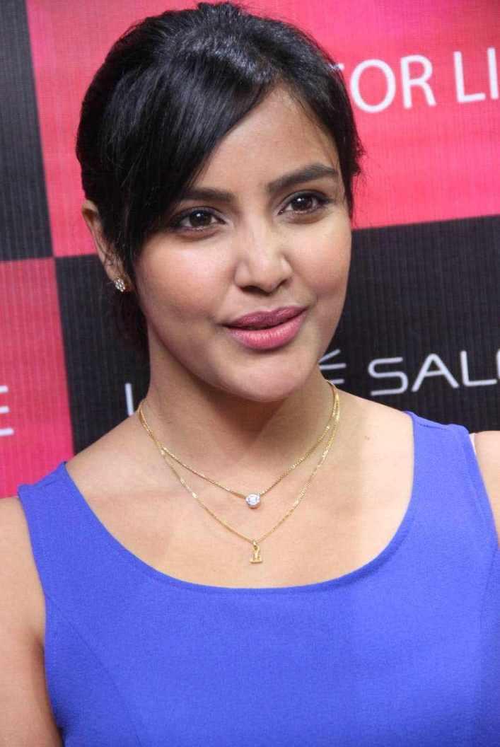 Beautiful Telugu Actress Priya Anand Smiling Face Closeup