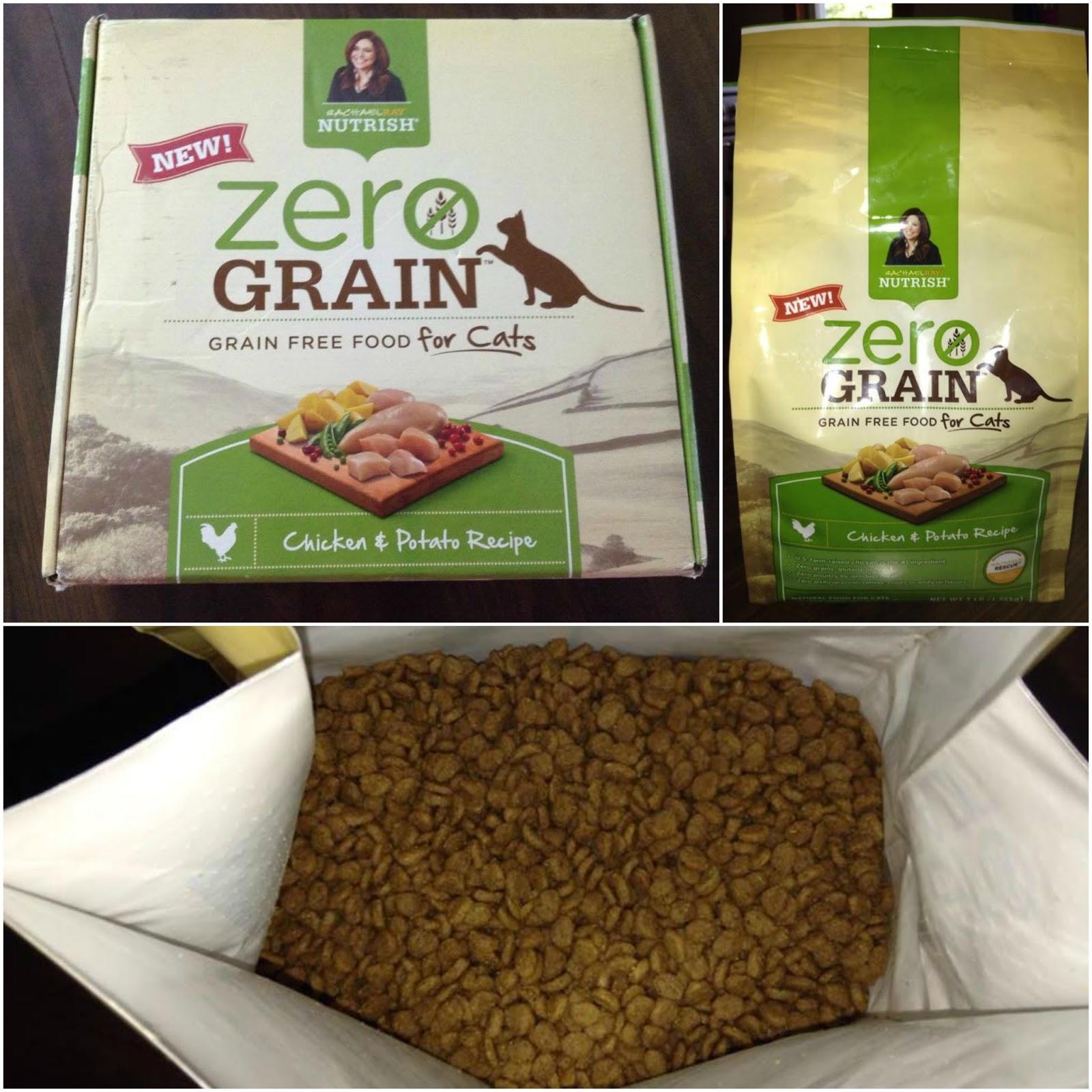 Rachael Ray Nutrish Zero Grain Cat Food Chicken Potato Recipe