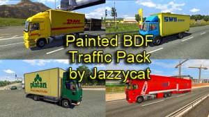Jazzycat – Painted BDF Traffic Pack 3.2