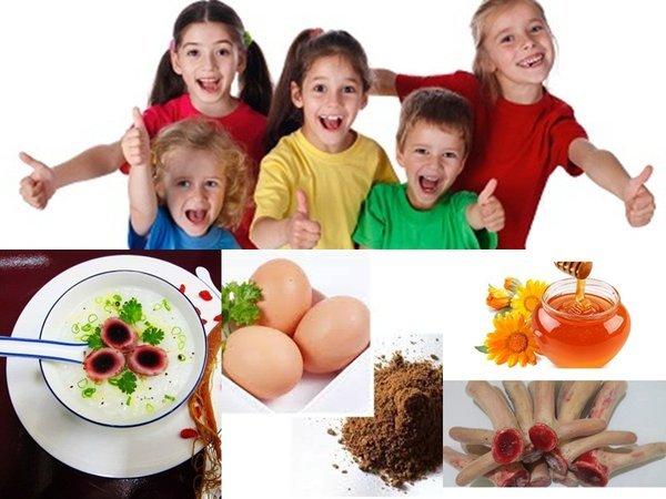 Sử dụng bột nhung hươu bổ sung dinh dưỡng toàn diện cho trẻ